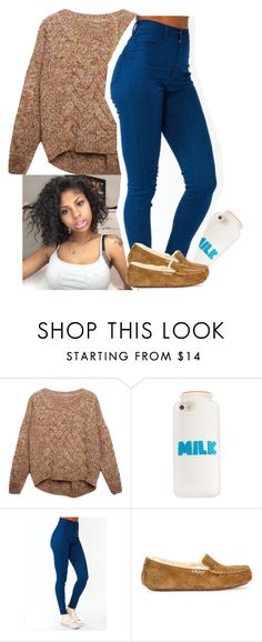 """"""""""" by xtiairax ❤ liked on Polyvore featuring Relaxfeel and UGG"""