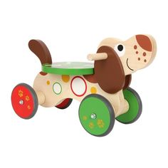 Legler Childrens Toddlers Wooden Dog 4 Wheel Ride on Toy for sale online Diy Wood Projects, Wood Crafts, Wood Toys Plans, Wooden Animals, Ride On Toys, Diy Toys, Wooden Diy, Kids Furniture, Cheap Furniture