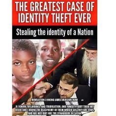 DNA studies confirm that of people who call themselves Jews ARE NOT descendents of Abraham. In 2001 Dr. Ariella Oppenheim (a Jew) a biologist at Hebrew University published the first extensive study of DNA and the origin of the Jews. Her research fou History Of Statistics, History Facts, Dna Research, Tribe Of Judah, Johns Hopkins University, Identity Theft, Know The Truth, African American History, My People