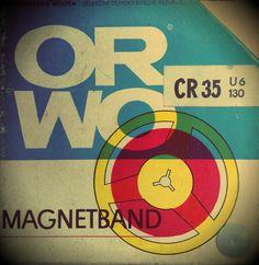 VEB Filmfabrik Wolfen = ORWO ORWO = Original Wolfen Magnetband für DDR-Tonbandsysteme