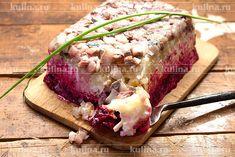 Диетическая селедка под шубой - рецепт с фото