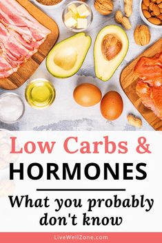 Even though low carb diets offer various benefits, they can have surprising consequences on hormone balance. This post explores the link between low carb and hormones, and shows you what you should consider when for your hormone balancing diet. With the right set of carbs in your diet, you can balance hormones naturally and free yourself from various hormonal imbalance symptoms. Hormone Imbalance Symptoms, Hormone Diet, Foods To Balance Hormones, Balance Hormones Naturally, Atkins Recipes, Health And Nutrition, Health Tips, Hormone Balancing, No Carb Diets