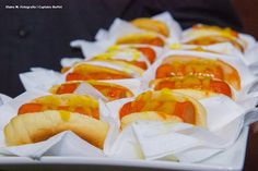 Mini Hot Dog. #Lanchinhodameianoite #Wedding #Buzios #Captainsbuffet