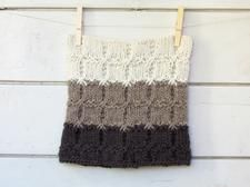 Chunky Ombre Cowl - moka, beige and cream - stripe luxury alpaca -  Cozy and hearth warming accessory  - fall fashion - unisex
