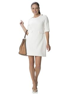 Sail to Sable Party in the Park Dress in Cream