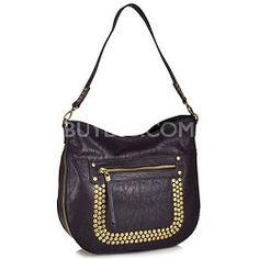 Big Buddha Baxter Studded Hobo Handbag # BuyDigStyle
