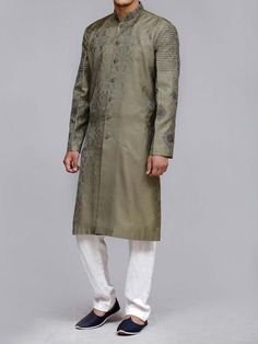 Here is the latest Pakistani men kurta shalwar kameez designs by top Pakistani designers. All of latest men kurta design for men are shown with pictures. Kurta Pajama Men, Gents Kurta, Man Wear, Latest Fashion, Mens Fashion, Rado, Kurta Designs, Shalwar Kameez, Pakistani Dresses