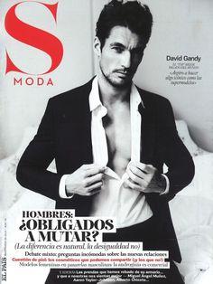 S Moda for El Pais - S MODA for El Pais March 2013 Cover David Gandy by Damon Baker