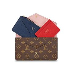 Discover Louis Vuitton Jeanne Wallet: Smart and practical, the Jeanne Wallet in Monogram canvas offers endless possibilities. This envelop wallet in Monogram canvas is both ultra feminine and highly adaptable thanks to its three-in-one construction with removable card holder and coin pocket.