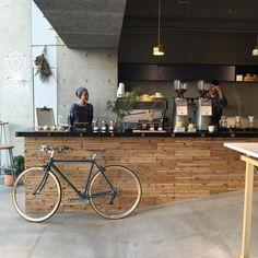 """""""帰って来て1番最初のお店は RATIO coffee & cycle  @ratio_c  back to Tokyo!! #ratiocoffeeandcycle #onibuscoffee #tokyocoffee"""""""