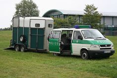 T4 syncro with Ifor Williams horse trailer.
