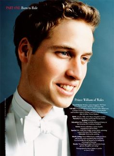 Happy 30th Birthday, Prince William! Photograph by Mario Testino