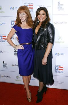 Kathy Griffin Photos - Kathy Griffin and Rachal Ray attend 2011 Stand Up for Heroes at the Beacon Theatre on November 2011 in New York City. - 2011 Stand Up For Heroes Beacon Theater, Theatre, Kathy Griffin, Beverly Wilshire, The Beverly, Four Seasons Hotel, Hippie Bohemian, November, York