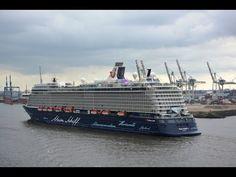 Mein Schiff 3 Erstes Anlaufen im Hamburger Hafen