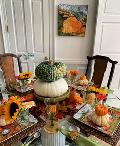 Home Decor & Tablescapes, Falling for Pumpkins | The Painted Apron