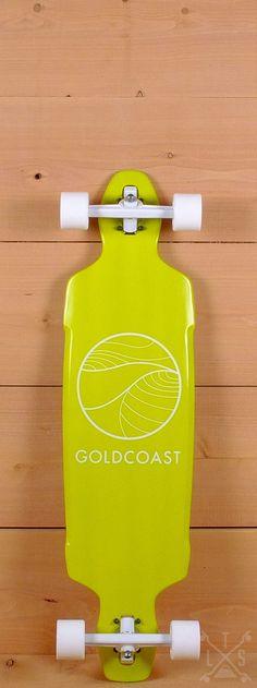 """GoldCoast Prebuilt 40"""" Citrus Drop Through Longboard"""