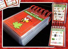 ETSY: Quiet Book Kit Articles of Faith Sacrament Book by templesquares