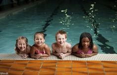 Pool safety is an important thing to teach your kids