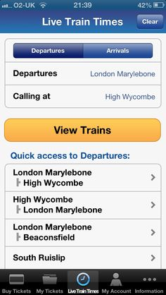 Maybe not the Chilterns Railway app - but railway timetables / departures boards in general. #squaredonline