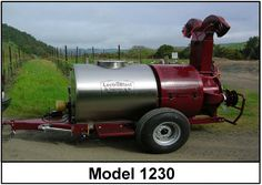 #LectroBlast Vineyard Model 1230 comes equipped with our patented Low Pressure, Wear Resistant O-Gee Air Shear nozzle. #SimplyBetterCoverage  www.proaginc.com