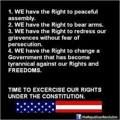 We Have the Right I Love America, God Bless America, Let Freedom Ring, No Kidding, Dont Tread On Me, Persecution, Founding Fathers, Way Of Life, We The People