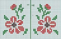 Cross Stitch Beginner, Tiny Cross Stitch, Cross Stitch Heart, Cross Stitch Borders, Cross Stitch Flowers, Cross Stitch Designs, Cross Stitching, Cross Stitch Embroidery, Cross Stitch Patterns