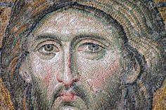 Deesis Christ, Hagia Sophia, Istanbul, 1261