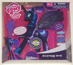 My Little Pony Exclusive Nightmare Moon on ShopSavvy Nightmare Moon, Can You Help Me, My Little Pony Friendship, Digital Camera, Good Things, Christmas, Stuff To Buy, Xmas, Digital Camo