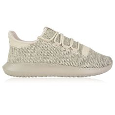 ADIDAS ORIGINALS Tubular Shadow Knit Trainers ($94) ❤ liked on Polyvore featuring shoes, sneakers, adidas originals sneakers, adidas originals, adidas originals shoes, adidas originals trainers and knit shoes