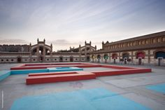 Matadero Madrid is a former slaughterhouse in the Arganzuela district of Madrid, which has been converted to an arts centre.