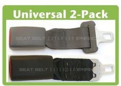 2 Pack Of Car Seat Belt Extenders Type A B Universal