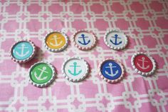 Livy Love Designs sale // anchor magnets // nautical magnets