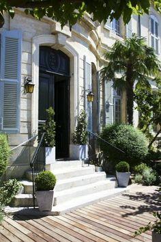 SecretGardenOfmine: Hotel Chateau de Mazan, former home of the Marquis de Sade, ..