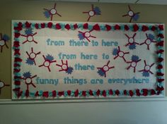 Dr. Suess Bulletin Board idea! Did this one myself!