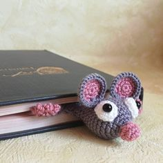 Items similar to Crochet bookmark Mouse on Etsy Crochet Bookmarks, Zine, Etsy Shop, Trending Outfits, Unique Jewelry, Handmade Gifts, Vintage, Kid Craft Gifts, Craft Gifts