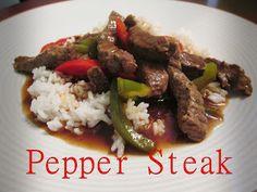 Mommy Does Hair: Pepper Steak