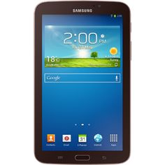 """Awesome!! Samsung Galaxy Tab 3 SM-T210 8 GB Tablet - 7"""" - Marvell ARMADA PXA986 1.20 GHz - Golden Brown - $238.99 #onselz"""