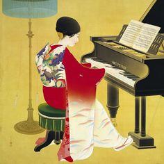中村 大三郎 Nakamura Daizaburo (1898-1947) #music #japanese_art