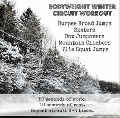 Winter Games Workout