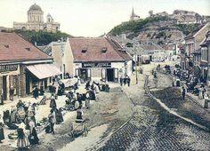 Esztergom long ago Hungary, Paris Skyline, Europe, World, Beautiful, Travelling, The World, Earth