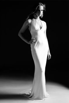 Georgina is a thirties vintage inspired wedding dress for brides who are looking for classic 1930s vintage wedding dresses