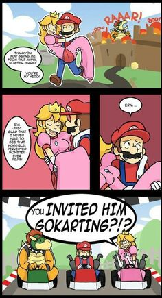 Mario you should think about it again....