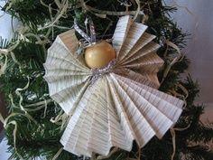 Homemade Angel Christmas Ornaments   Homemade Christmas Ornaments