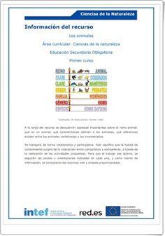 """Unidad 11 de Biología y Geología de 1º de E.S.O.: """"Los animales vertebrados"""""""
