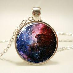 Montre galaxie en collier :)