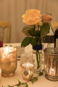 All Décor and Styling provided by Crow Hill Weddings. Fresh Flowers by Roxanne at Lily Blossom. Sophisticated Wedding, Elegant, Fresh Flowers, Crow, Candle Holders, Wedding Decorations, Wedding Day, Lily, Candles