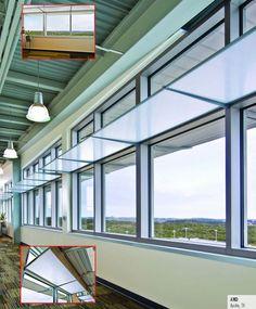 Light Shelf Light Reflectors And Diffusers - Gordon Interiors