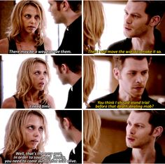 #TheOriginals #3x22 #SeasonFinale -  So this creation, is this yours or is it Niklaus'? - We're linked to his life force.