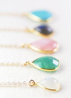 Kaiapo necklace gold moonstone pendant necklace