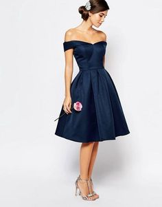 Navy Blue Homecoming Dress,Off the Shoulder Prom Dress,Short Prom Dress,5753